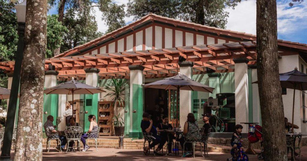 Café Concerto, um dos cafés tradicionais da cidade